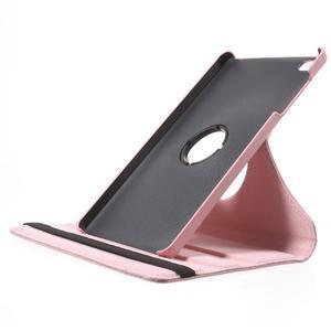 Otočné polohovatelné pouzdro na Huawei MediaPad M2 - růžové - 6
