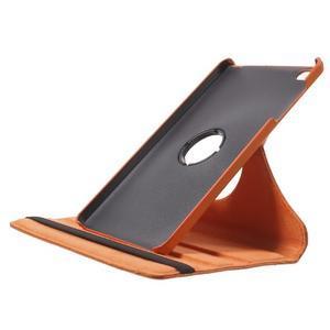 Otočné polohovatelné pouzdro na Huawei MediaPad M2 - oranžové - 6