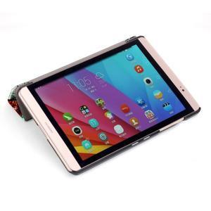 Třípolohové pouzdro na tablet Huawei MediaPad M2 8.0 - malovaný strom - 6