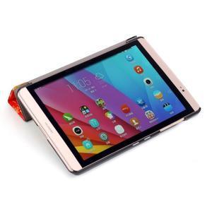 Třípolohové pouzdro na tablet Huawei MediaPad M2 8.0 - barevné kostičky - 6