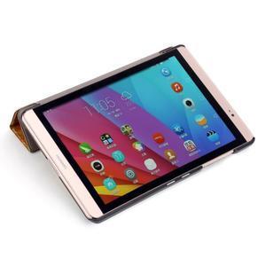 Třípolohové pouzdro na tablet Huawei MediaPad M2 8.0 - henna - 6