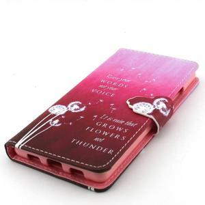 Emotive pouzdro na mobil Huawei P8 Lite - pampelišky - 6