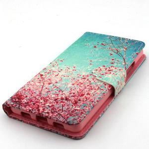 Emotive pouzdro na mobil Huawei P8 Lite - kvetoucí švestka - 6