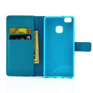 Knížkové pouzdro na mobil Huawei P9 Lite - vlaštovka - 6