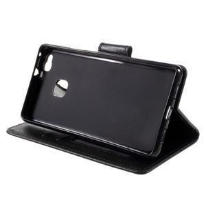 Easy peněženkové pouzdro na mobil Huawei P9 Lite - černé - 6