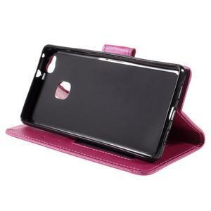Easy peněženkové pouzdro na mobil Huawei P9 Lite - rose - 6