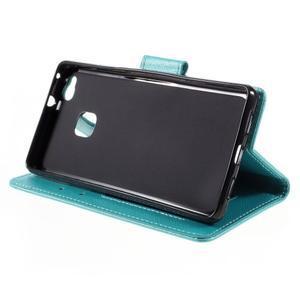 Easy peněženkové pouzdro na mobil Huawei P9 Lite - modré - 6