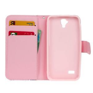 Stylové peněženkové pouzdro na Huawei Y5 a Y560 - láska - 6