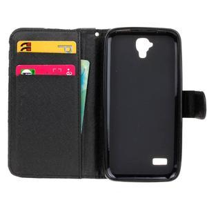 Stylové peněženkové pouzdro na Huawei Y5 a Y560 - ananas - 6