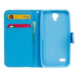 Stylové peněženkové pouzdro na Huawei Y5 a Y560 - mašlička - 6