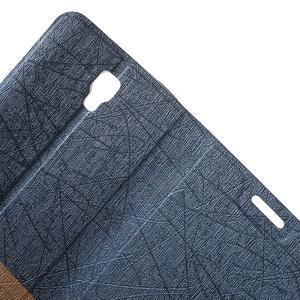 Lines knížkové pouzdro na Huawei Y5 a Y560 - tmavěmodré - 6