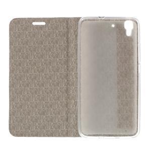 Lines pouzdro na mobil Huawei Y6 - zlaté - 6