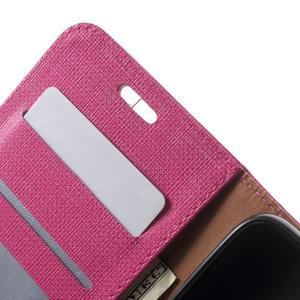 Clothy PU kožené pouzdro na Huawei Y6 - rose - 6