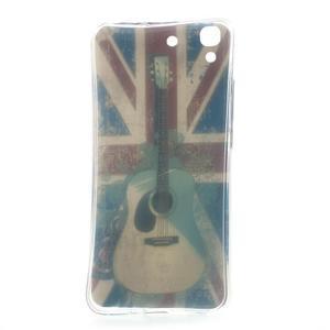 Softy gelový obal na mobil Huawei Y6 - UK vlajka - 6