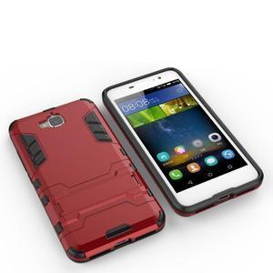 Outdoor odolný obal na mobil Huawei Y6 Pro - červený - 6