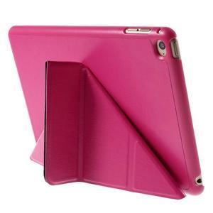 Origami polhovatelné pouzdro na iPad mini 4 - rose - 6