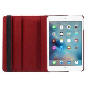 Cyrc otočné pouzdro na iPad mini 4 - červené - 6