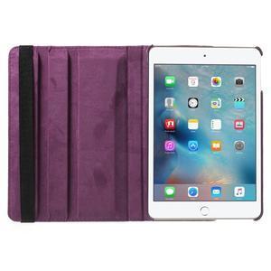 Cyrc otočné pouzdro na iPad mini 4 - fialové - 6
