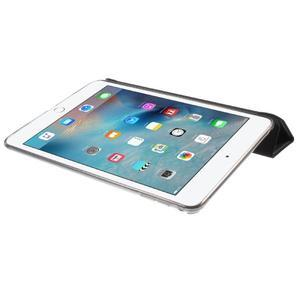 Trifold trojpolohové pouzdro na tablet iPad mini 4 - černé - 6