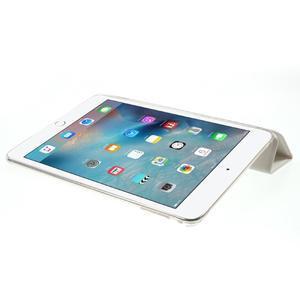 Trifold trojpolohové pouzdro na tablet iPad mini 4 - bílé - 6
