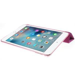 Trifold trojpolohové pouzdro na tablet iPad mini 4 - rose - 6