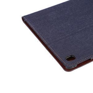 Jeans stylové pouzdro na iPad Pro 9.7 - černomodré - 6