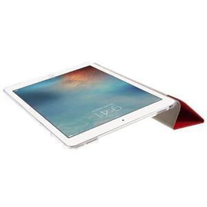 Trifold polohovatelné pouzdro na tablet iPad Pro 9.7 - červené - 6