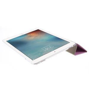 Trifold polohovatelné pouzdro na tablet iPad Pro 9.7 - růžové - 6