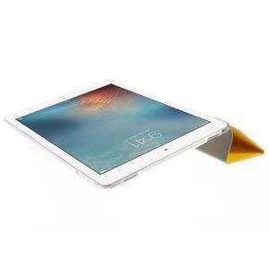 Trifold polohovatelné pouzdro na tablet iPad Pro 9.7 - žluté - 6