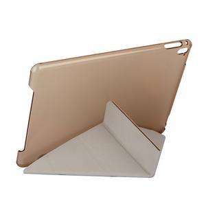 Extra origami polohovatelné pouzdro na iPad Pro 9.7 - bílé - 6