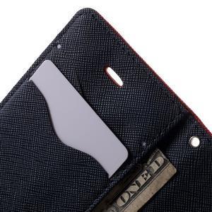Fancys PU kožené pouzdro na iPhone 4 - červené - 6