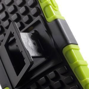 Outdoor odolný obal na mobil iPhone 4 - zelený - 6