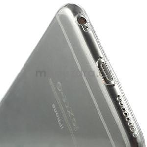 Ultra slim lesklý gelový obal na iPhone 6 Plus a 6s Plus - transparentní - 6