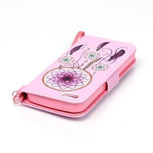 Peněženkové pouzdro na mobil iPhone SE / 5s / 5 - dream - 6