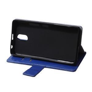 GX koženkové peněženkové na mobil Lenovo Vibe P1m - modré - 6