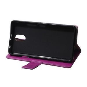 GX koženkové peněženkové na mobil Lenovo Vibe P1m - fialové - 6