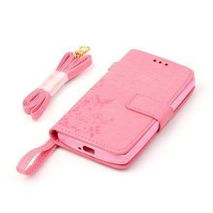 Magicfly pouzdro na mobil LG Leon - rose - 6