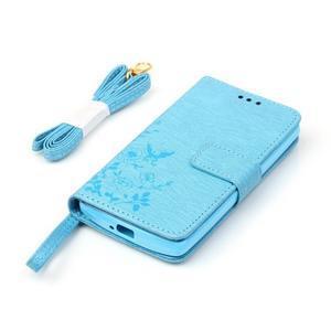 Magicfly pouzdro na mobil LG Leon - modré - 6