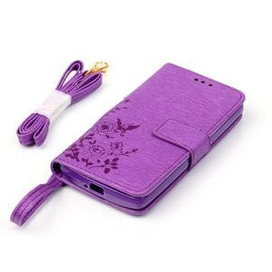 Magicfly pouzdro na mobil LG Leon - fialové - 6