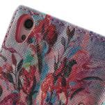Obrazové peněženkové pouzdro na Huawei Ascend P7 - kytice - 6/7
