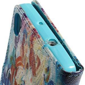 Obrazové peněženkové pouzdro na Huawei Ascend P7 - abstrakt - 6