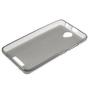 Gelový obal na mobil Lenovo A5000 - šedé - 6