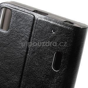 Hardy peněženkové pouzdro na Lenovo A7000 a Lenovo K3 Note - černé - 6
