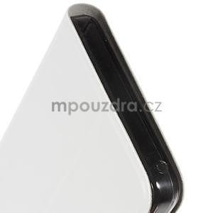 Hardy peněženkové pouzdro na Lenovo A7000 a Lenovo K3 Note - bílé - 6