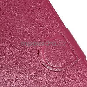 Hardy peněženkové pouzdro na Lenovo A7000 a Lenovo K3 Note - rose - 6