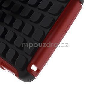 Odolné pouzdro na Lenovo K3 Note a Lenovo A7000 - červené - 6