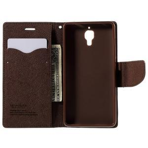 Mr. Fancy peněženkové pouzdro na Xiaomi Mi4 - černé/hnědé - 6