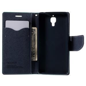 Mr. Fancy peněženkové pouzdro na Xiaomi Mi4 - azurové - 6