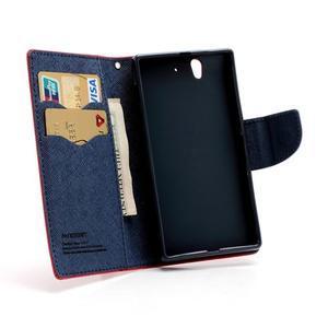 Mr. Goos peněženkové pouzdro na Sony Xperia Z - červené - 6