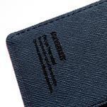 Mr. Goos peněženkové pouzdro na Sony Xperia Z - rose - 6/7